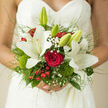 TRUE HAPPINESS BRIDAL BOUQUET